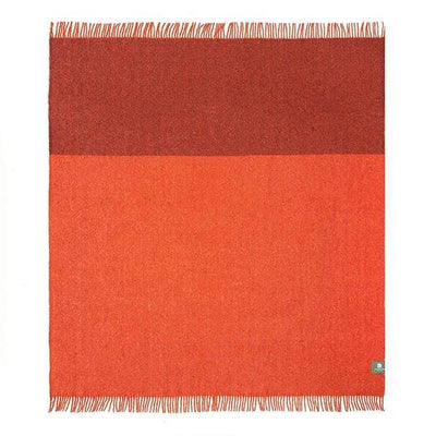 Waverley Mills Recycled;Throw Tonal Recycled Throw - Rust