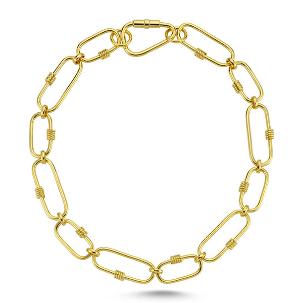 LISA GOLD CHAIN NECKLACE