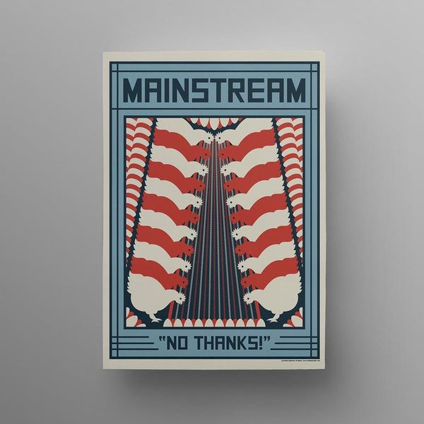 Mainstream Poster - A3