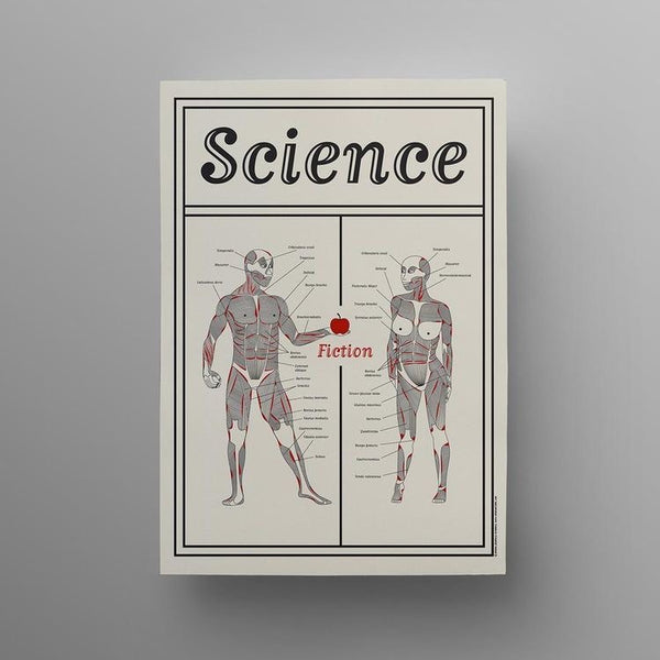 Science Fiction Poster - A3