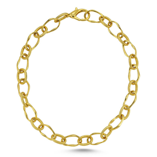 ASYMMETRIC CHAIN NECKLACE