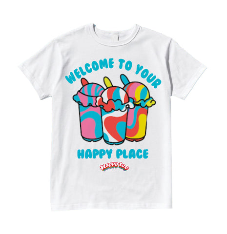 Happy Ice OG T-shirt - White
