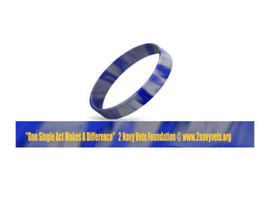 "2 Navy Vets  Foundation Fundraiser ""Wrist Band Drive"" ( Show your support with the 2 Navy Vets or Clap N Praise Wrist Bands)"