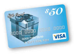 Gift Card-$50