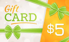 Gift Card-$5