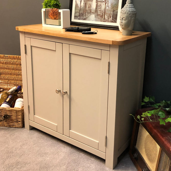 Sutton Oak Linen Cupboard