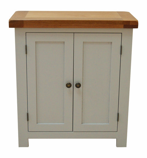 Swainswick Painted 2 Door Linen Cupboard / Storage Unit