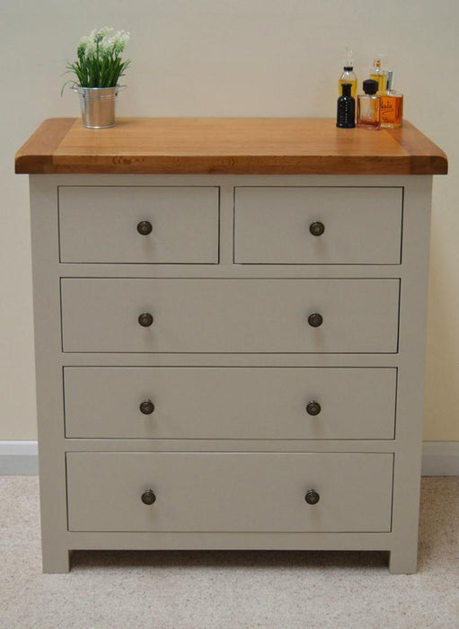Swainswick Painted 2 Over 3 Drawer Chest of Drawers