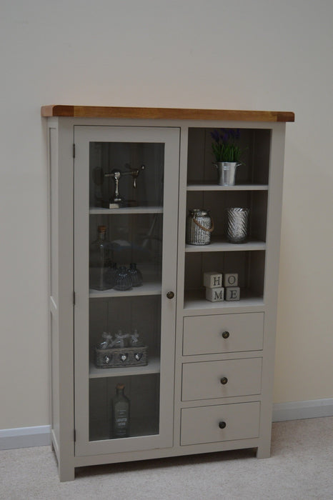 Swainswick Painted Combination Display Cabinet