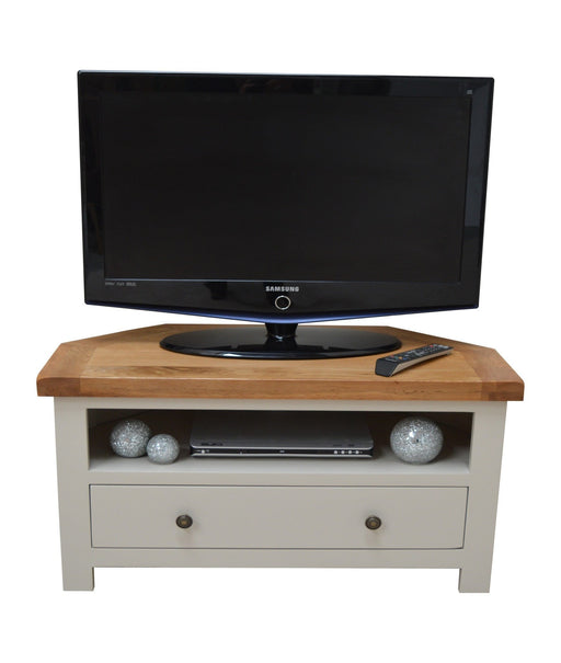 Swainswick Painted Corner TV Stand / Entertainment Unit