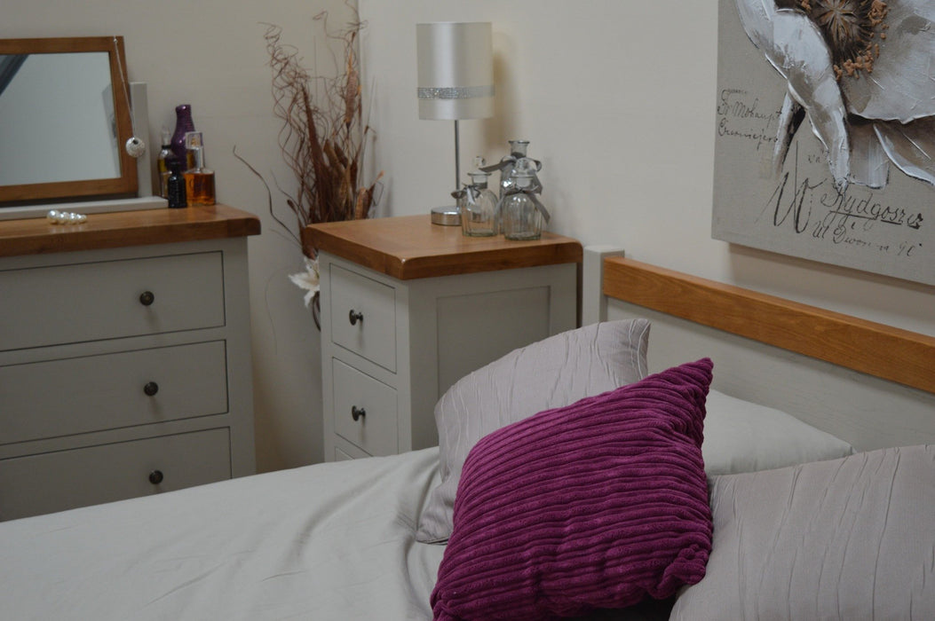 Swainswick Painted Oak Bedstead
