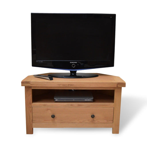 Beaufort Oak Corner T.V Unit