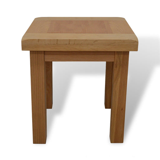 Beaufort Oak Lamp Table
