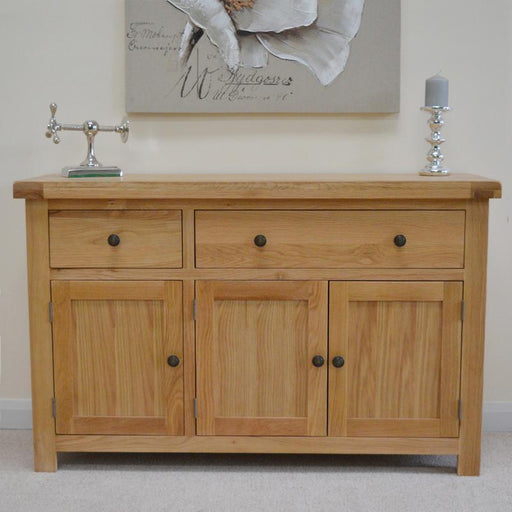 Beaufort Oak Large Oak Sideboard
