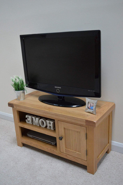Beaufort Oak Plasma T.V Unit
