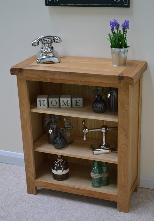 Beaufort Oak Small Bookshelf