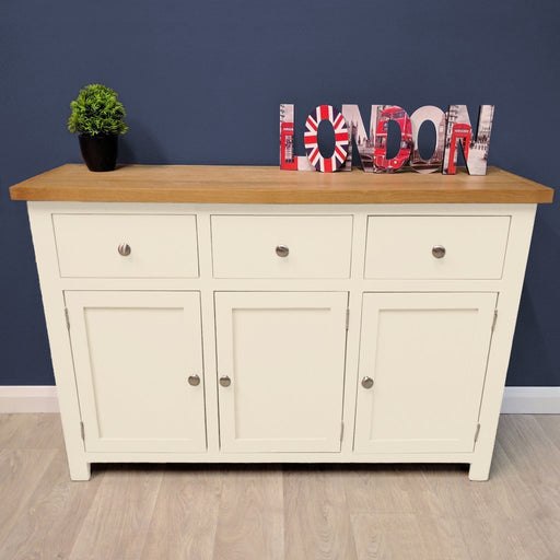Belgravia Oak Painted Large Sideboard