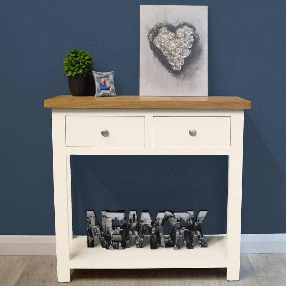 Belgravia Painted Oak Console Table