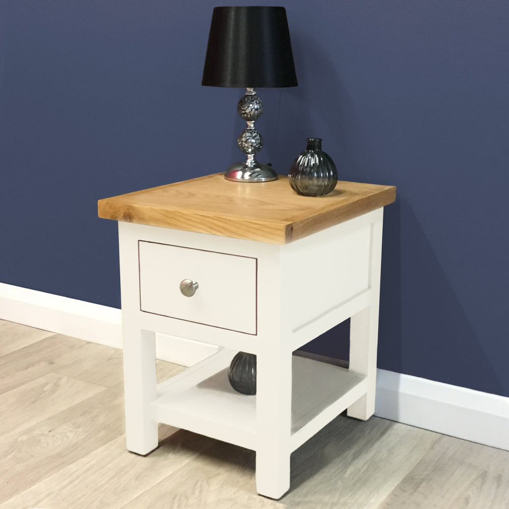 Belgravia Painted Oak Lamp Table
