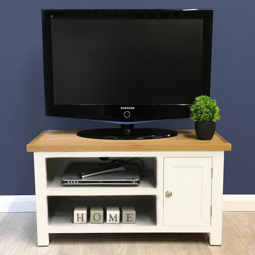 Belgravia Painted Oak Small TV Unit