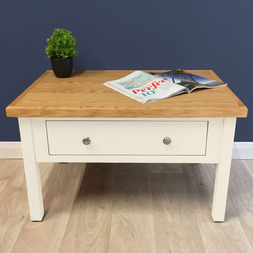 Belgravia Painted Oak Storage Coffee Table