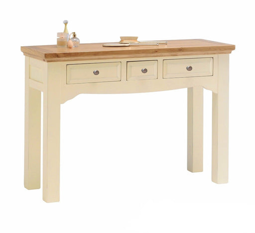 Devon Cream Painted Oak Dressing Table