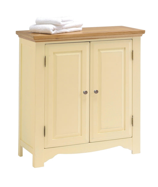 Devon Painted Oak 2 Door Linen Cabinet