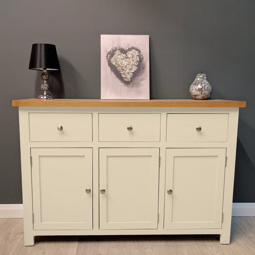 Cotswold Oak Painted Large Sideboard