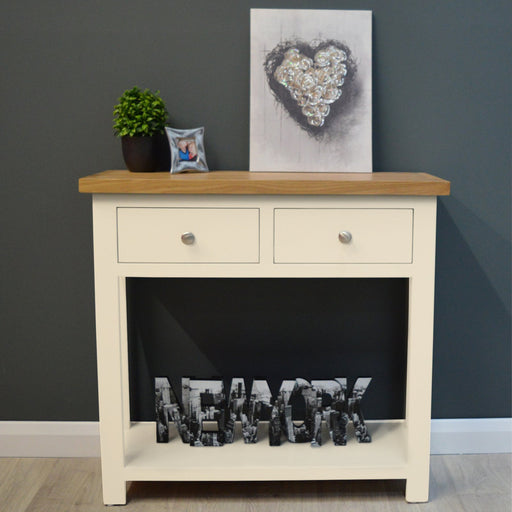 Cotswold Painted Oak Console Table
