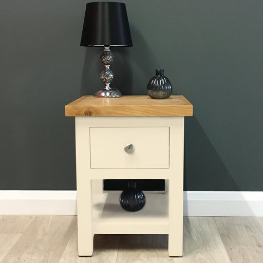 Cotswold Painted Oak Lamp Table