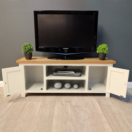 Cotswold Painted Oak Large TV Unit