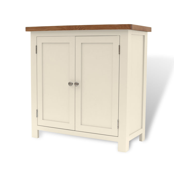 Cotswold Painted Oak Linen Cabinet
