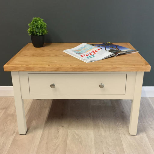 Cotswold Painted Oak Storage Coffee Table