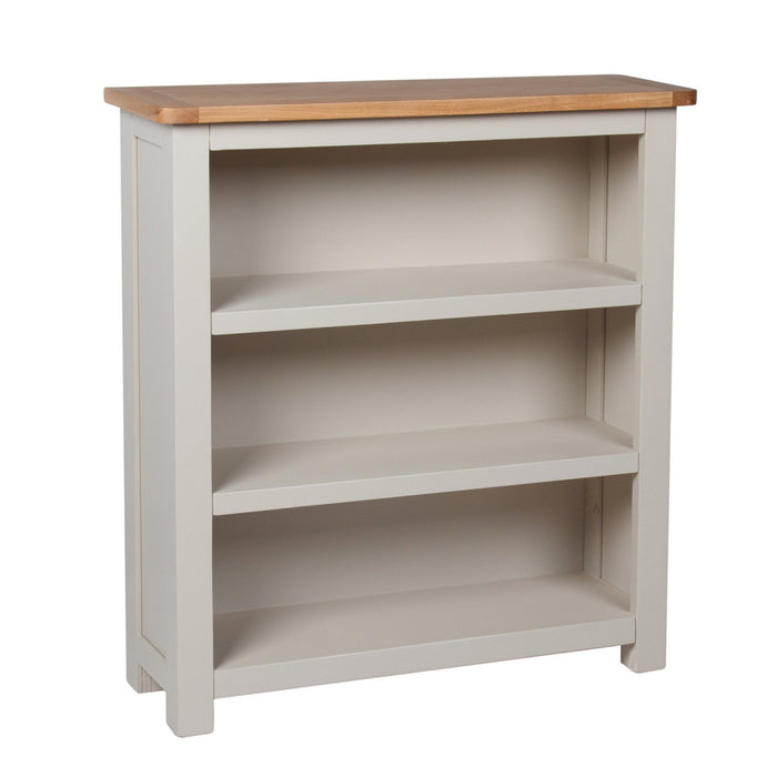 Essex Oak Low Bookcase