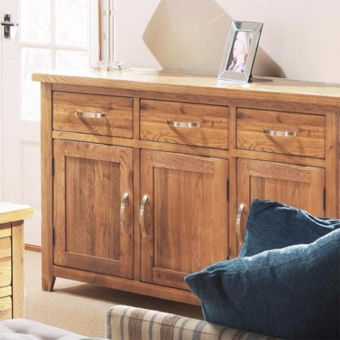 Oakland Oak Large Sideboard