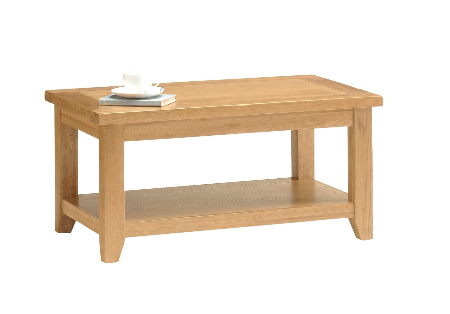 Oakland Oak Medium Coffee Table