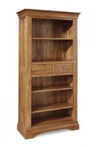 Brittany Oak 6 x 3 Bookcase