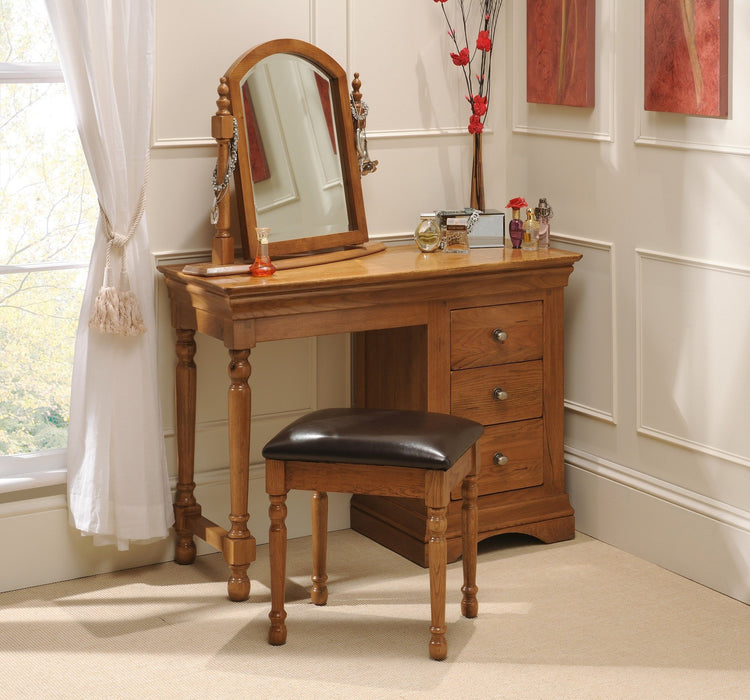 Brittany Oak Dressing Table