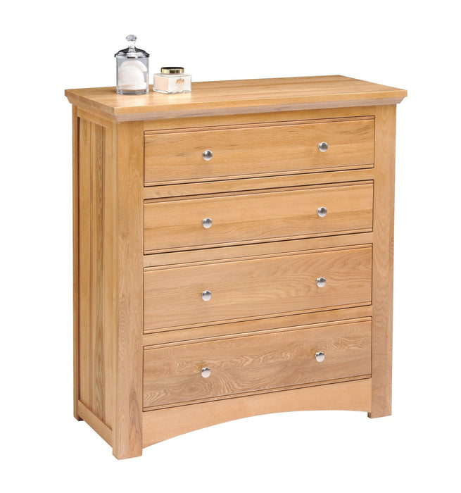 Oakmore 4 Drawer Chest