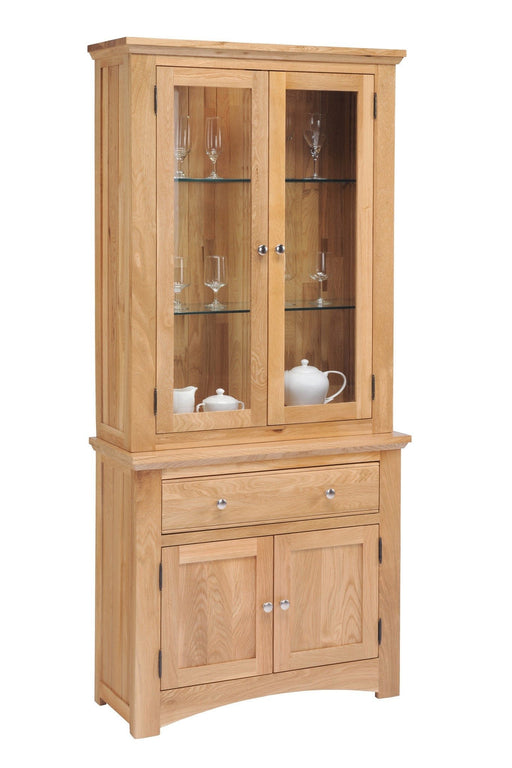 Oakmore Glazed Sideboard Display Cabinet
