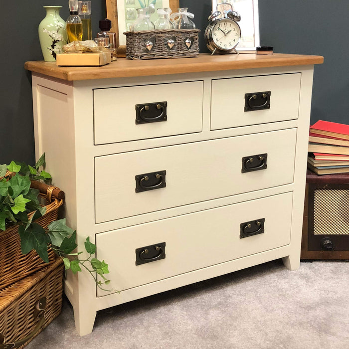 Padstow Painted 2 Over 2 Chest of Drawers
