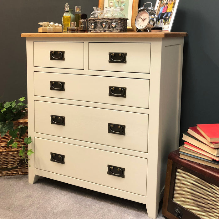 Padstow Painted 2 Over 3 Chest of Drawers