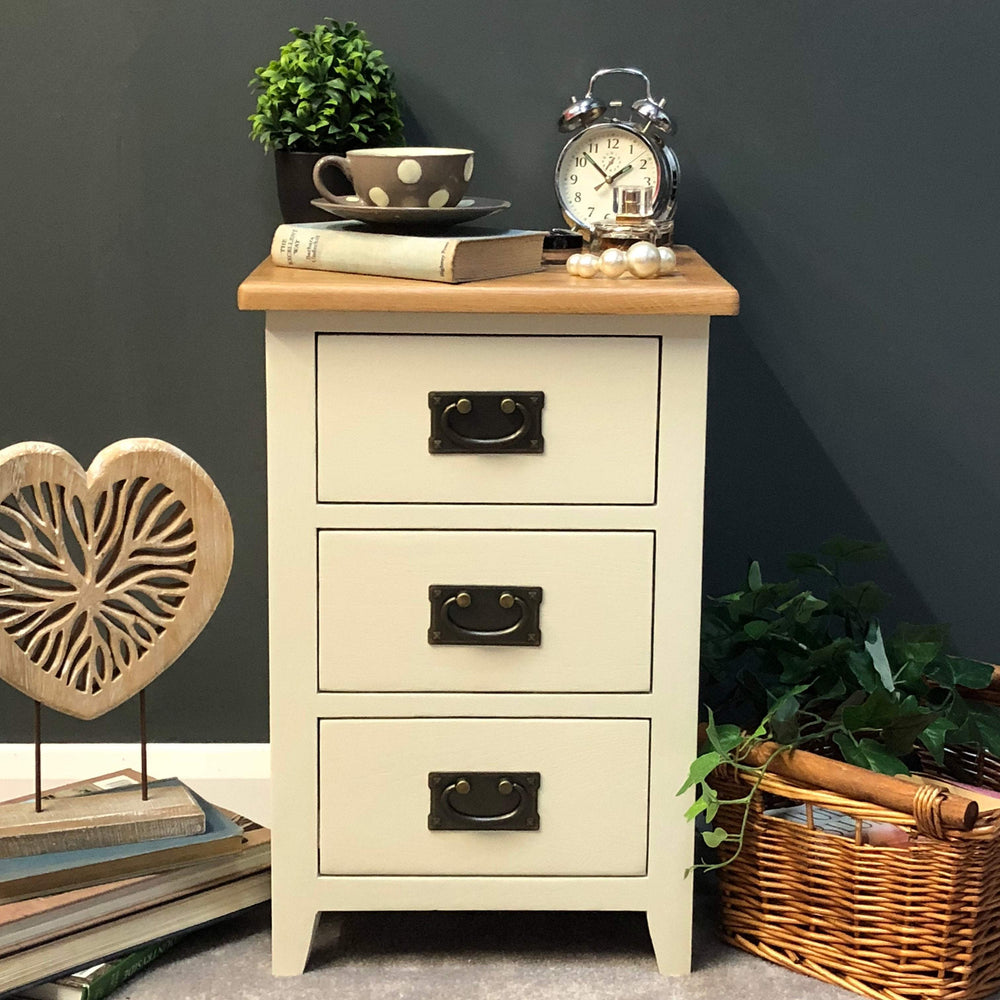 Padstow Painted Bedside Chest of Drawers