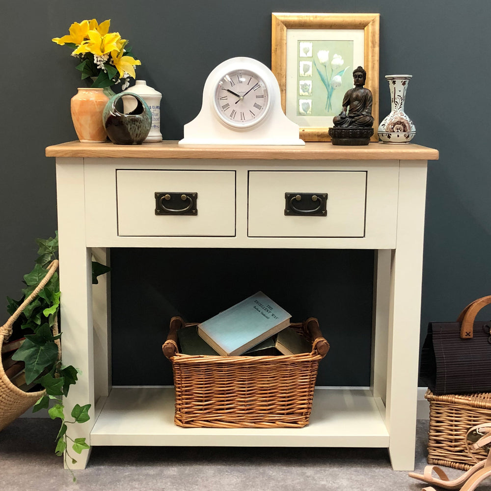 Padstow Painted Oak Console Table