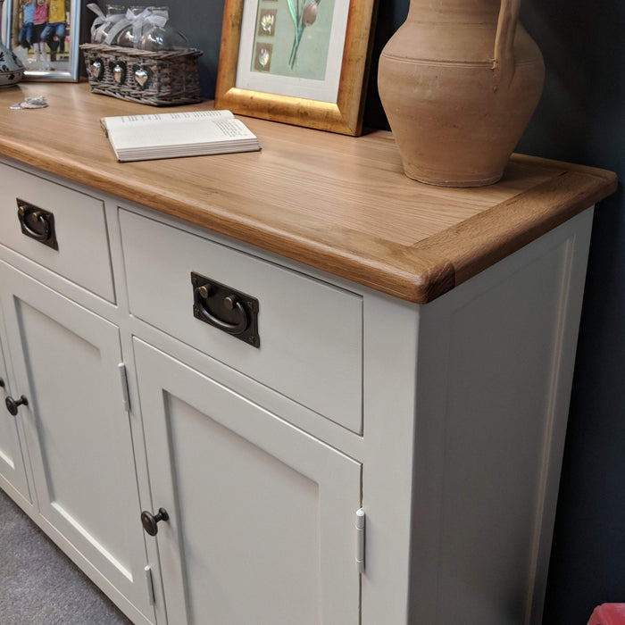 Padstow Painted Oak Large Sideboard