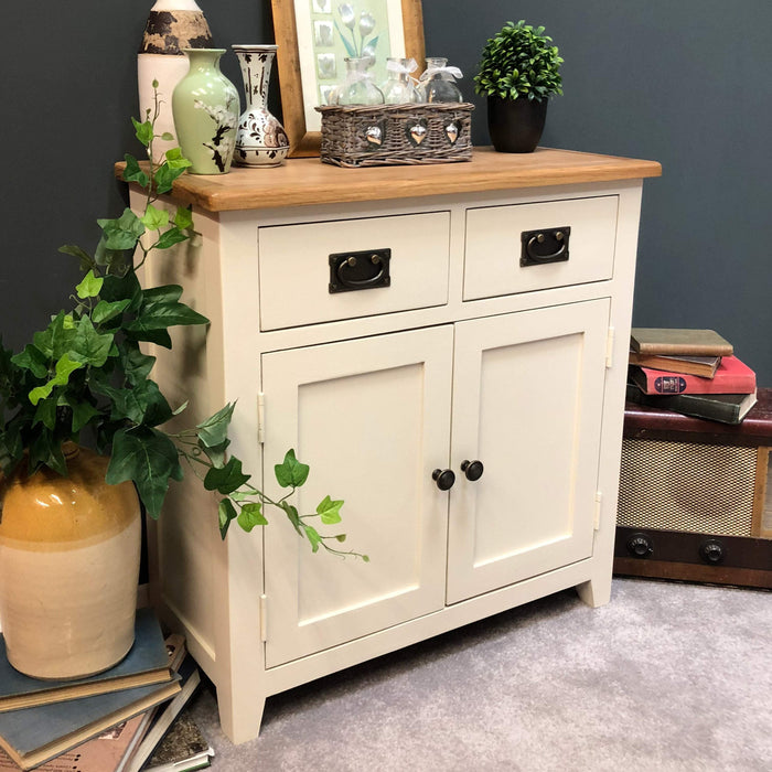 Padstow Painted Oak Mini Sideboard