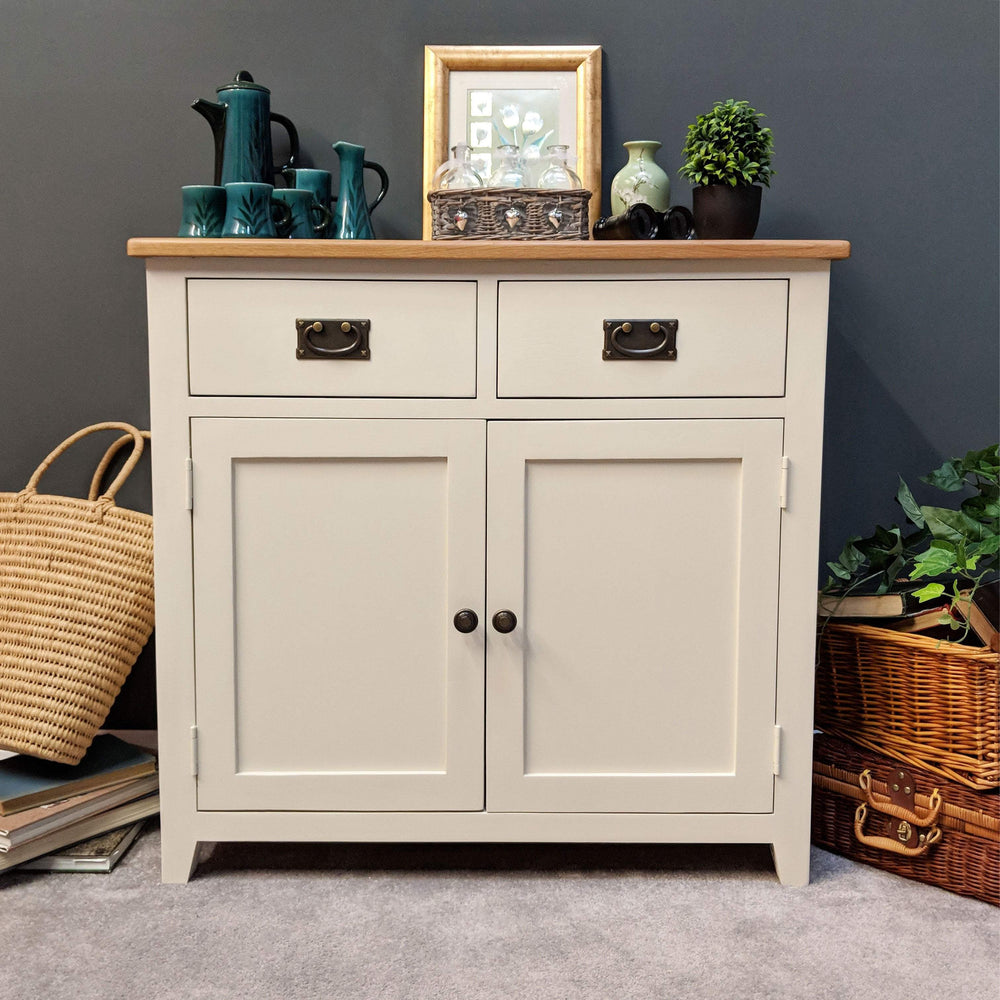 Padstow Painted Oak Small Sideboard