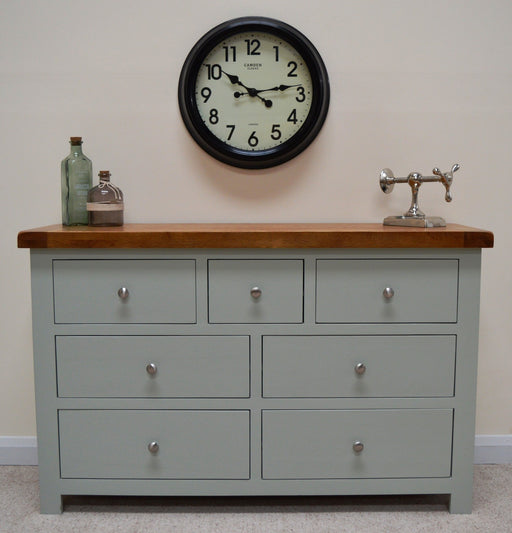 Camborne Painted 7 Drawer Multi Chest of Drawers