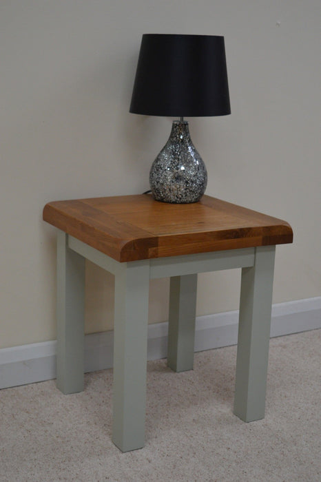 Camborne Painted Lamp Table / End Table