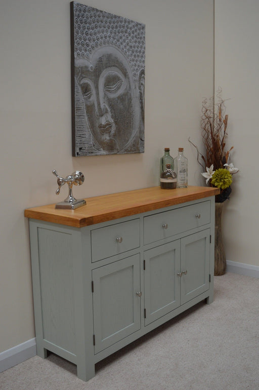 Camborne Painted Large Oak Sideboard